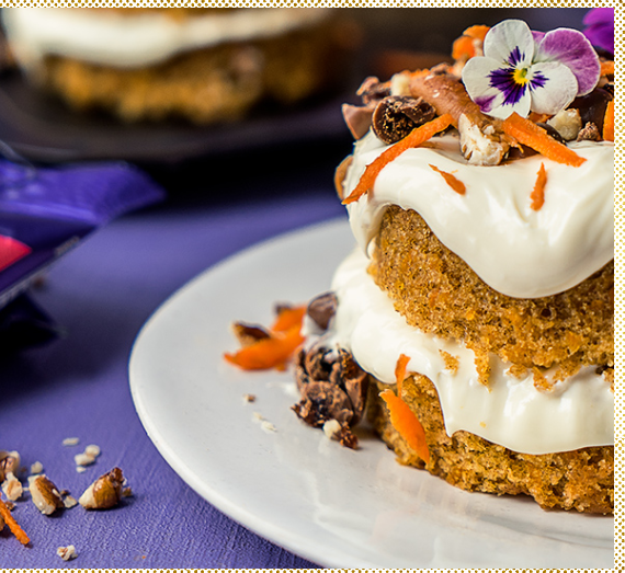 Cadbury Tumbles Raisin Tumble Carrot Cake